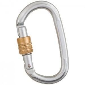 Liberty Steel Heavy Duty Key Lock Oval Carabiners